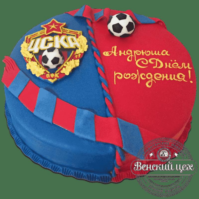 """Торт на день рождения """"Фанату"""" №702"""
