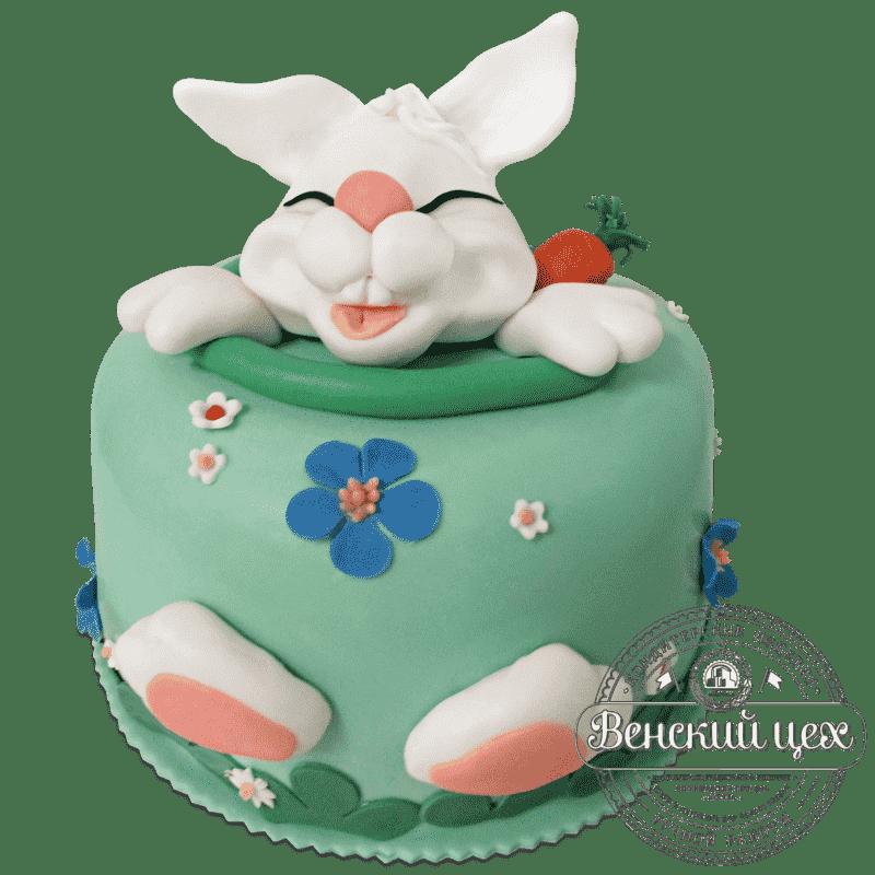 """Торт  детский """"Пасхальный кролик""""  №704"""