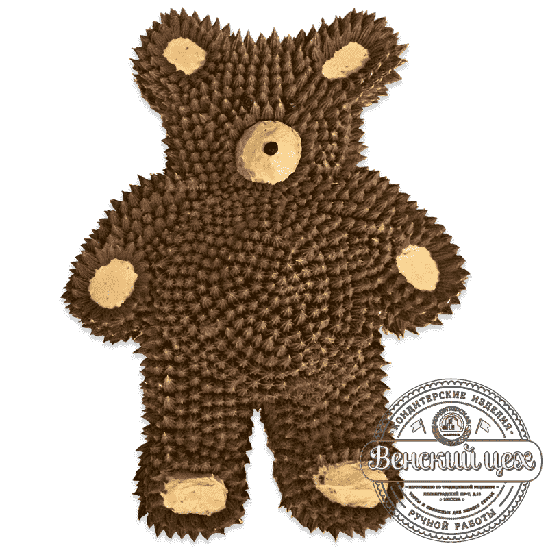 "Торт детский ""Бурый медведь"" №708"