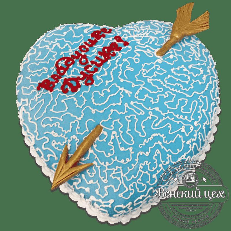 "Торт на праздник ""Иней"" №730"