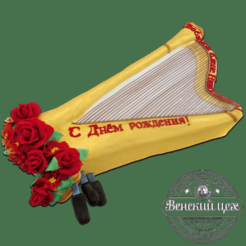 """Торт на день рождения """"Арфа"""" №745"""
