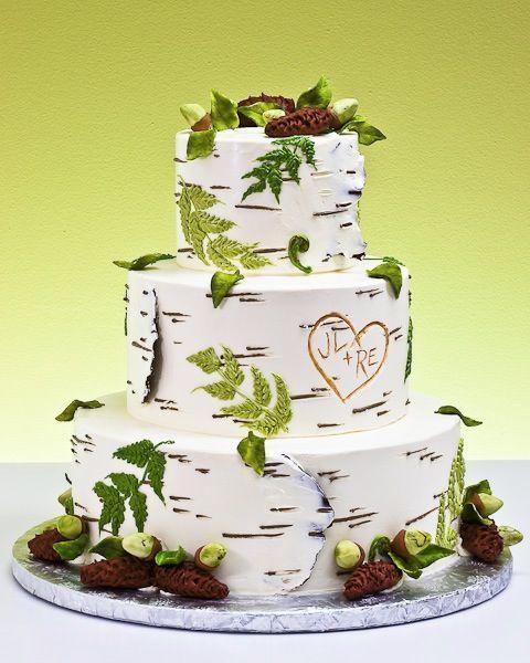 Торт свадебный №755