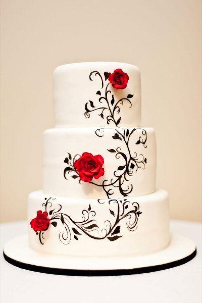 Торт свадебный №768