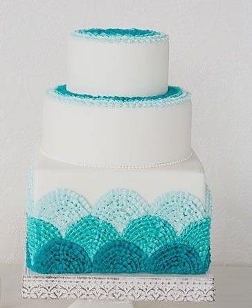 Торт свадебный №770