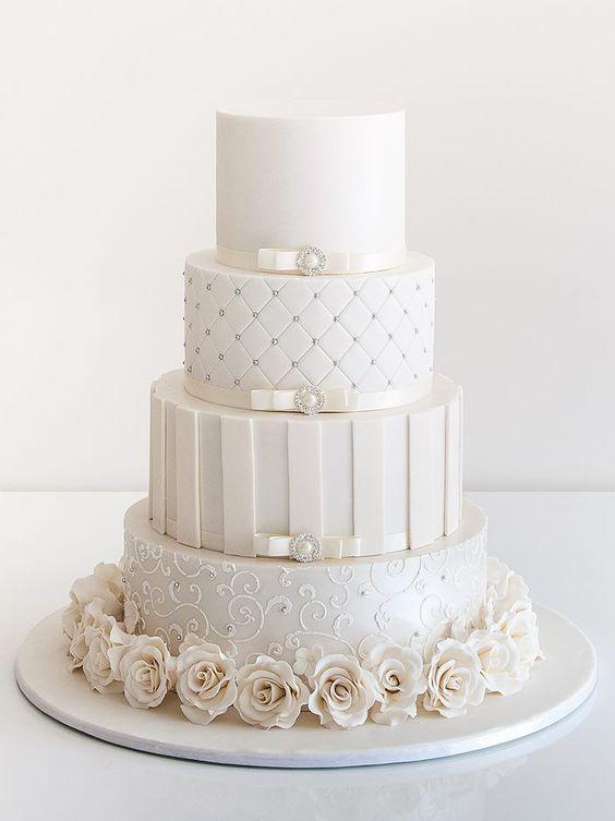 Торт свадебный №773
