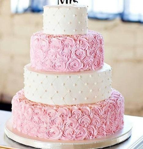 Торт свадебный №775