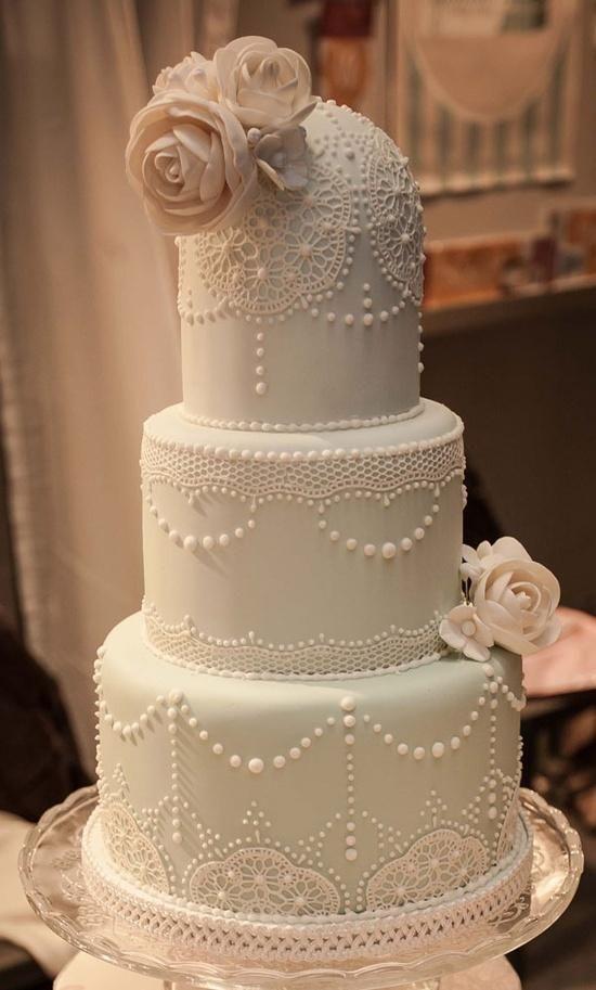 Торт свадебный №776