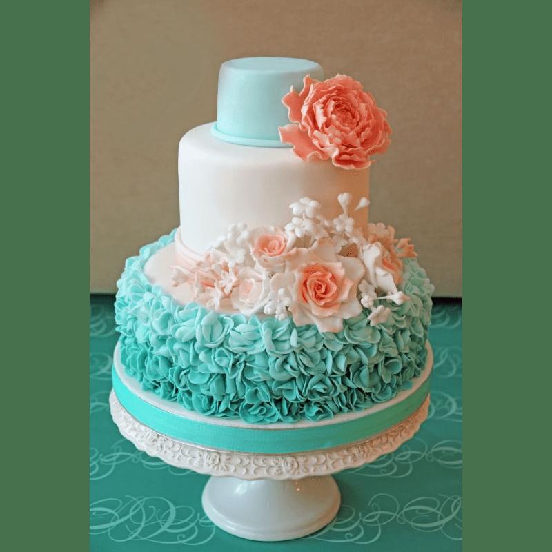 Торт свадебный №777