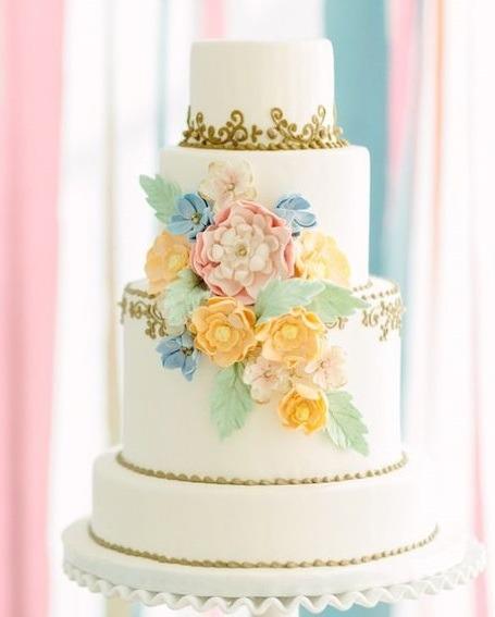 Торт свадебный №778