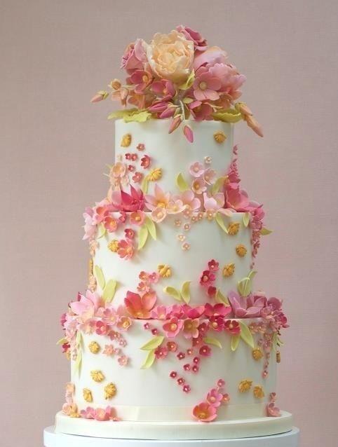 Торт свадебный №780