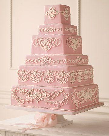 Торт свадебный №781