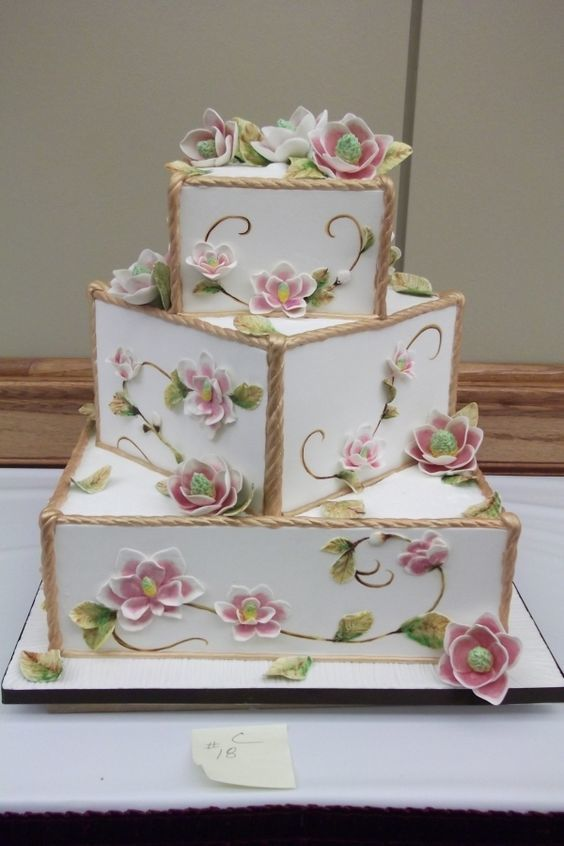Торт свадебный №782