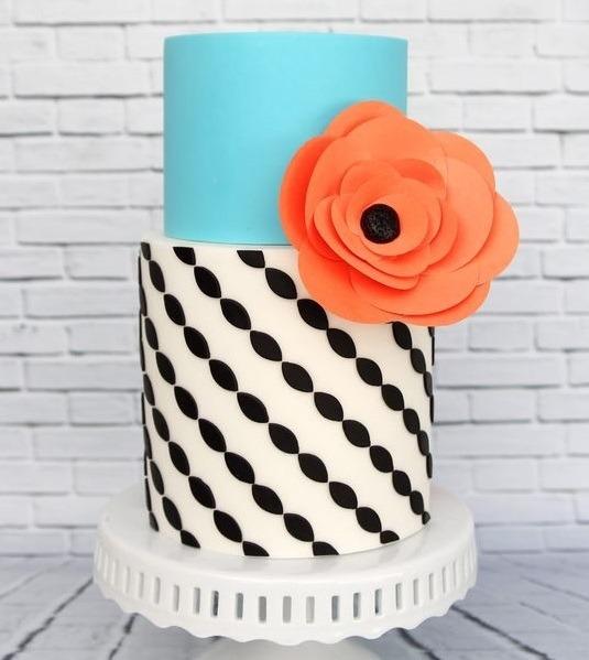 Торт свадебный №783