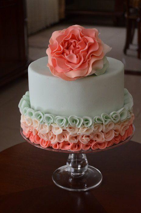 Торт свадебный №785