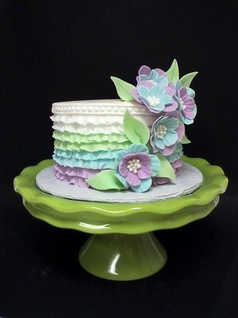 Торт свадебный №786