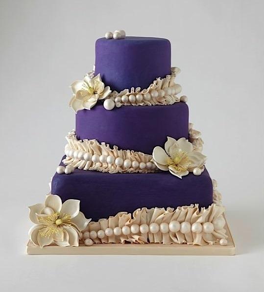 Торт свадебный №789