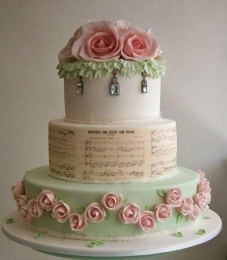 Торт свадебный №790