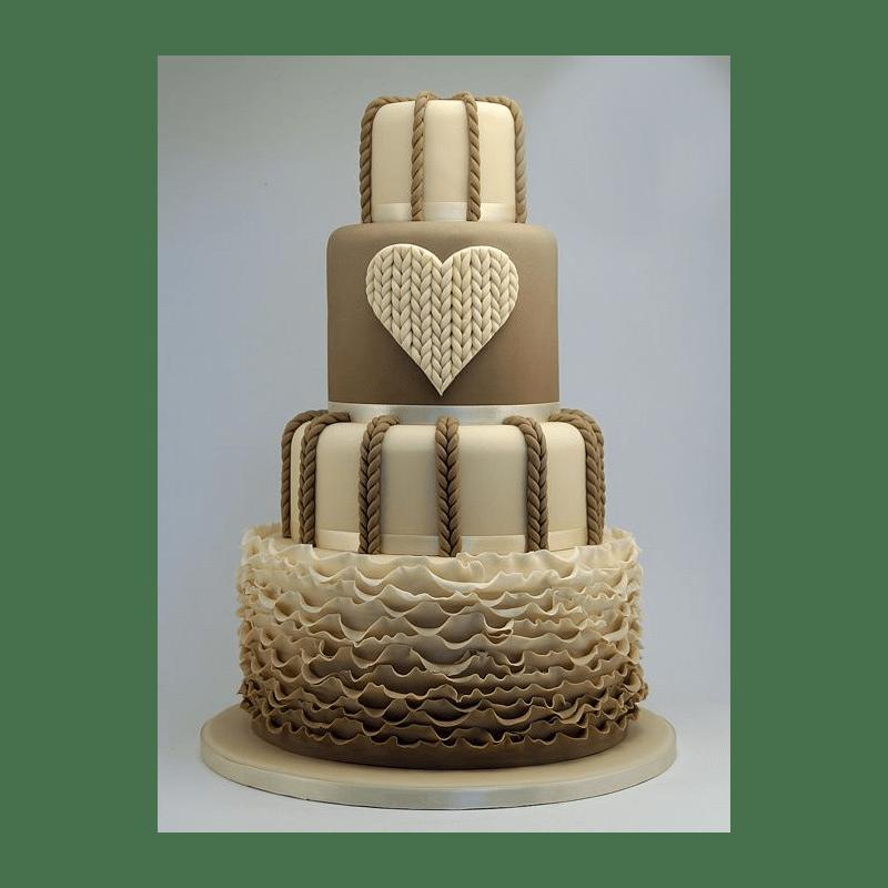 Торт свадебный №793