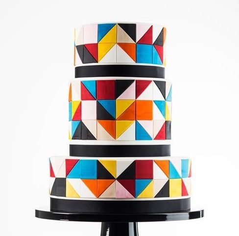 Торт свадебный №796