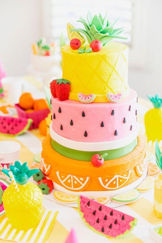 Торт детский №801