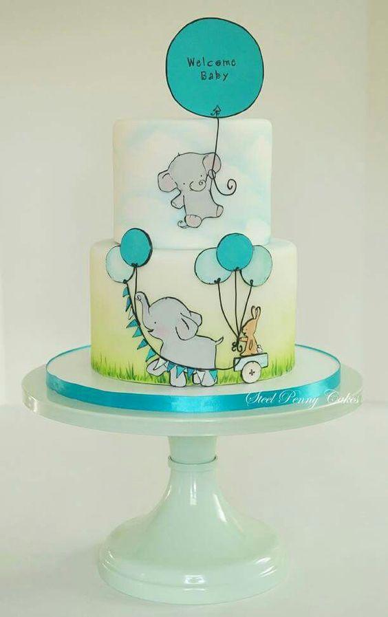 Торт детский № 825