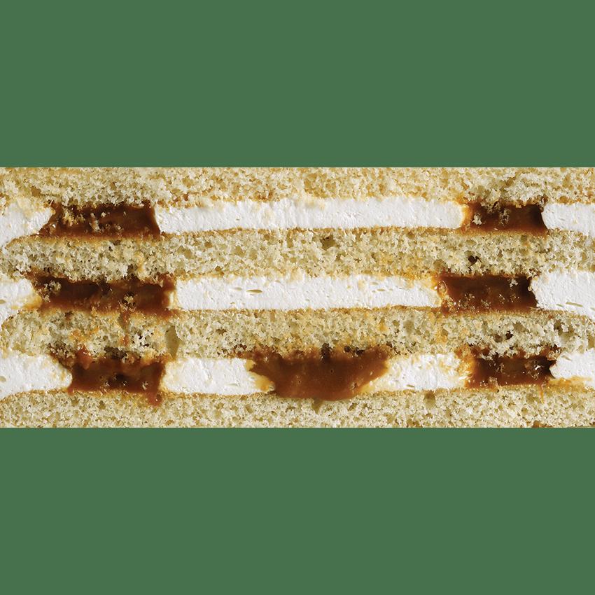 Сметанник (классический бисквит с пропиткой, сметанный крем и вареная сгущенка) #17