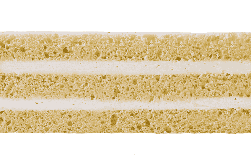Классический бисквит со сливочным кремом