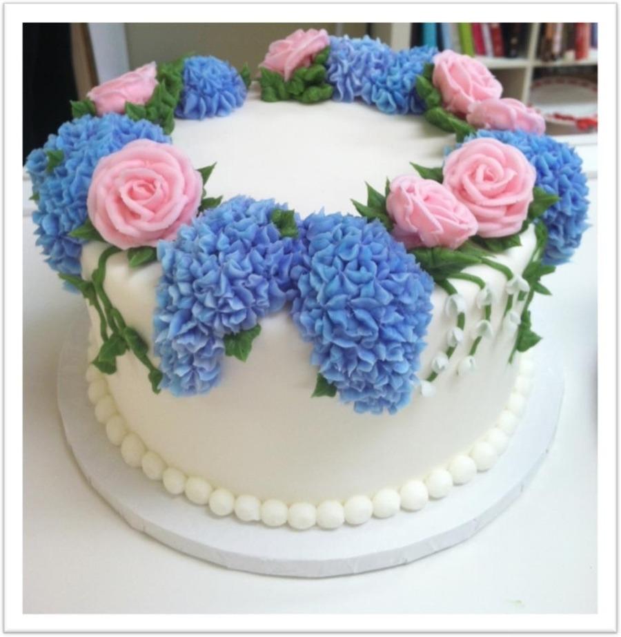 Торт на день рождения №1419
