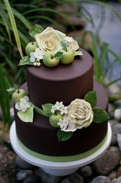 Торт  на свадьбу  № 961