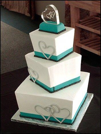 Торт на свадьбу №965