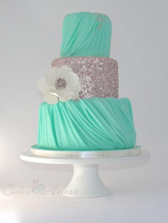 Торт свадебный №966