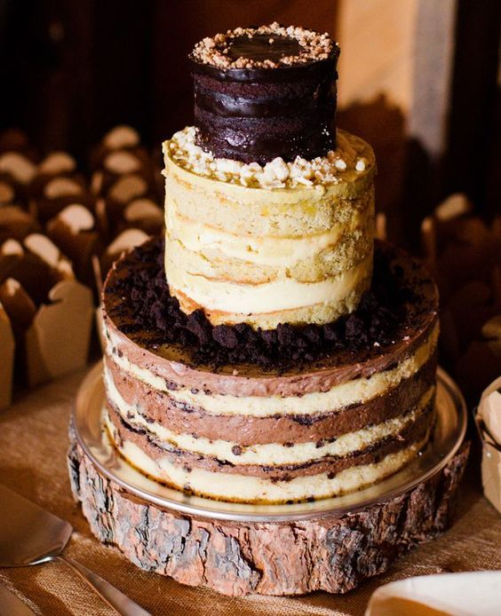 Торт  на свадьбу  № 971