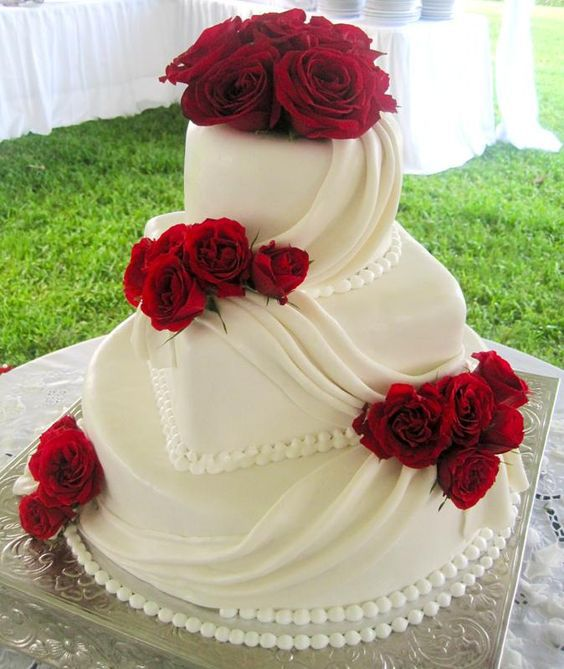 Торт  на свадьбу  № 972