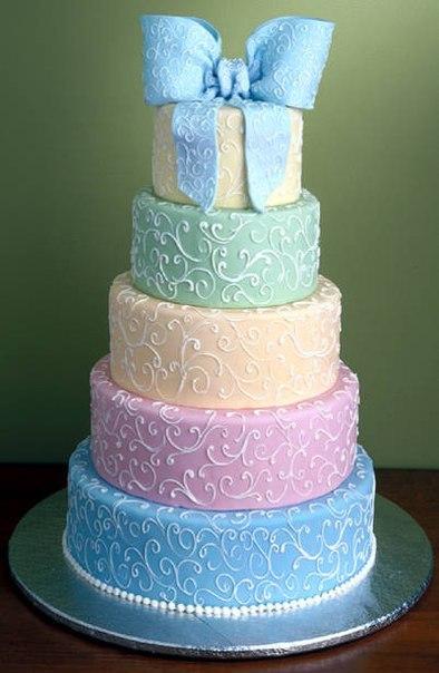 Торт  на свадьбу  № 974