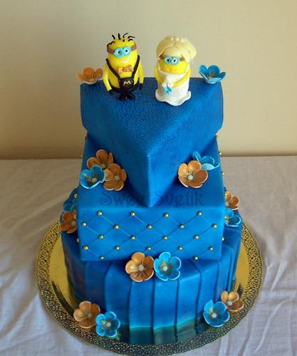 Торт  на свадьбу  № 975