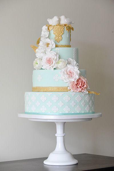 Торт  на свадьбу  № 978