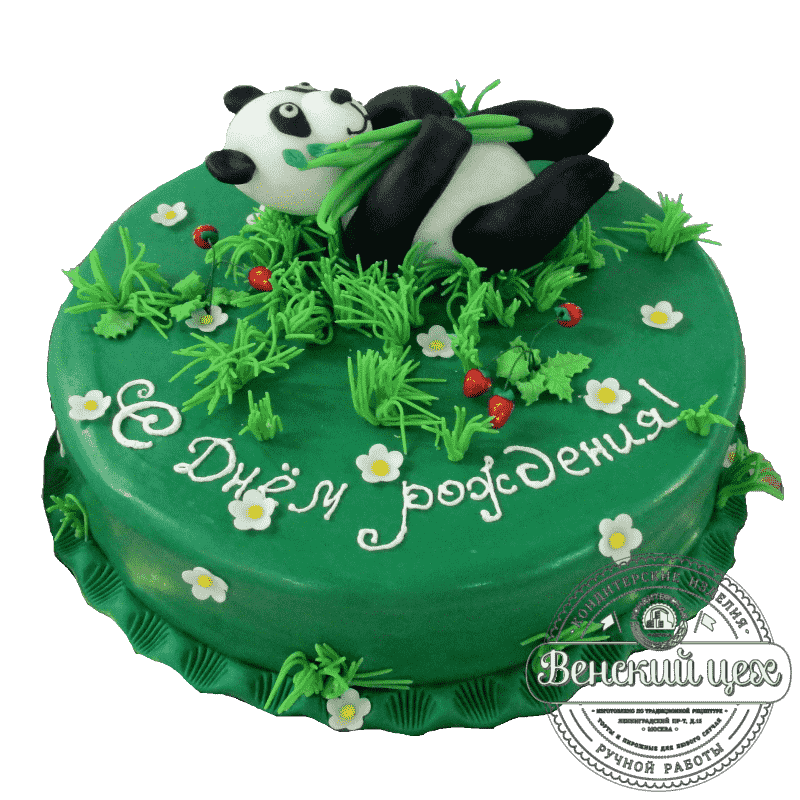 """Торт детский  """"Маленькая панда"""" №98"""