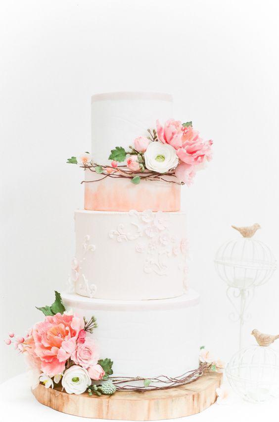 Торт  на свадьбу  № 986