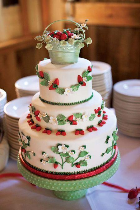 Торт  на свадьбу  № 991
