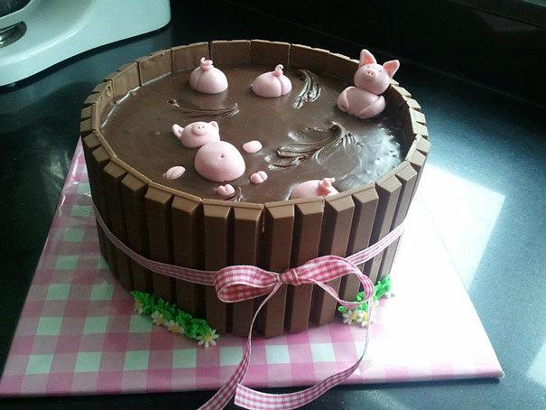 Торт детский №930