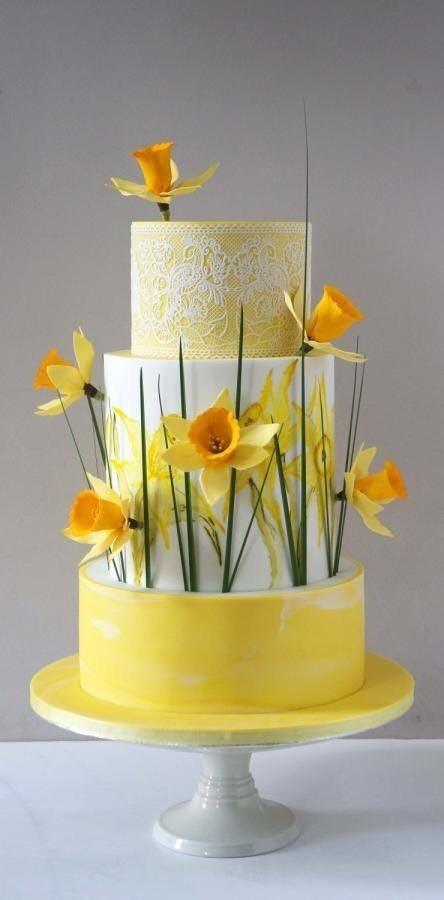 Торт свадебный №636