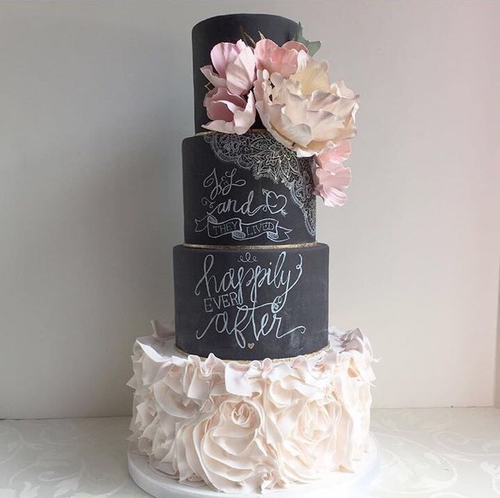 Торт свадебный №640