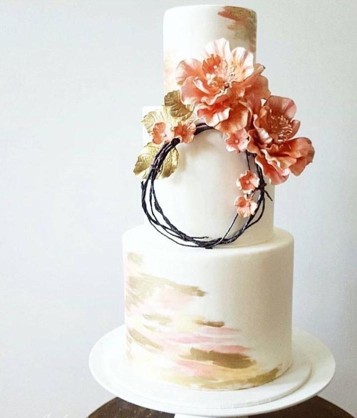 Торт свадебный №821