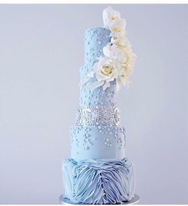Торт свадебный №838