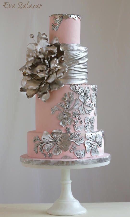 Торт свадебный №826