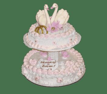 """Торт на свадьбу """"Нежность"""""""