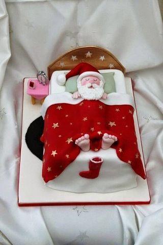 Торт на Новый год № 1068