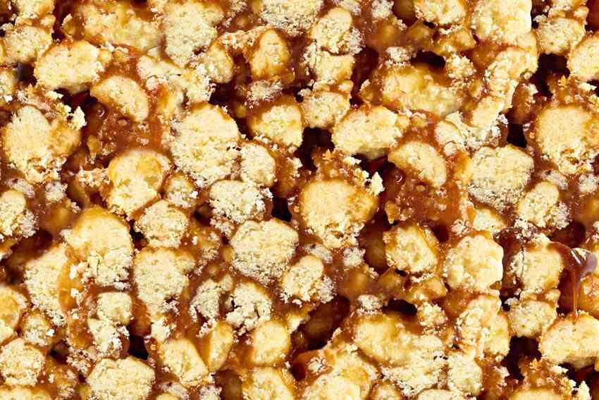 Мурашка (измельченное песочное тесто с варенным сгущенным молоком #40