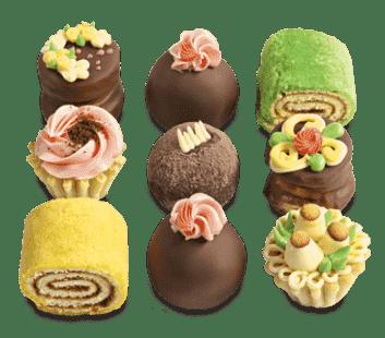 Набор пирожных №1 (9 шт)