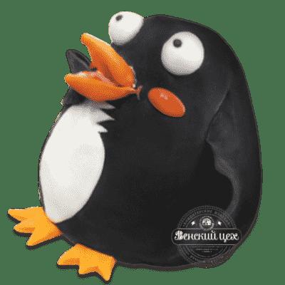 """Торт детский на 1 годик """"Пингвин"""""""